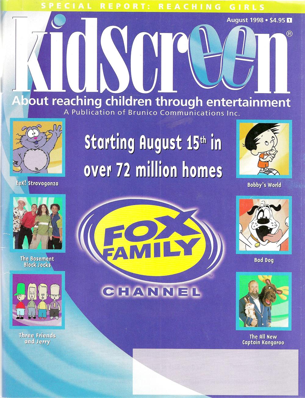 Kidscreen August 1998