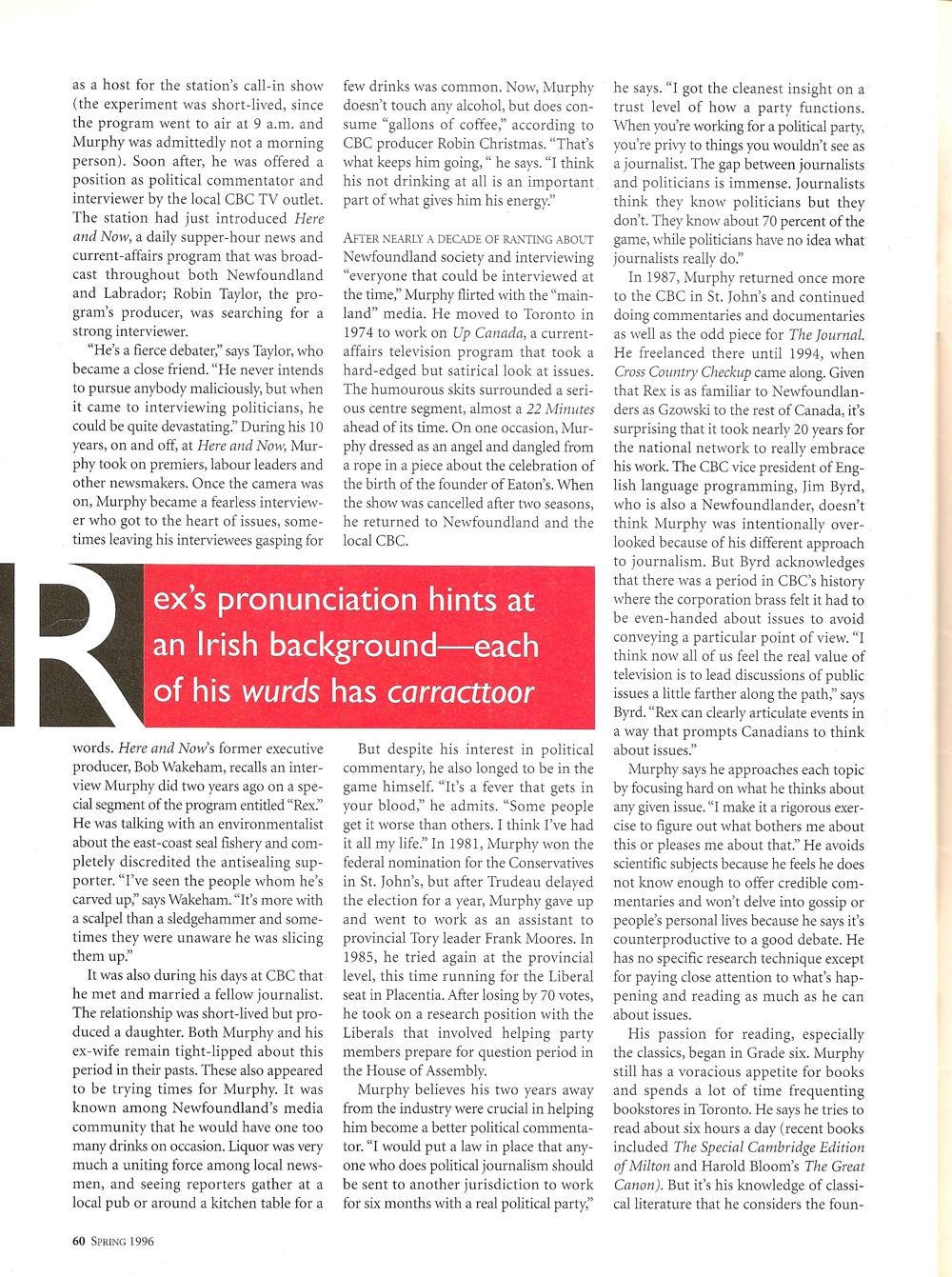 Ryerson Review of Journalism